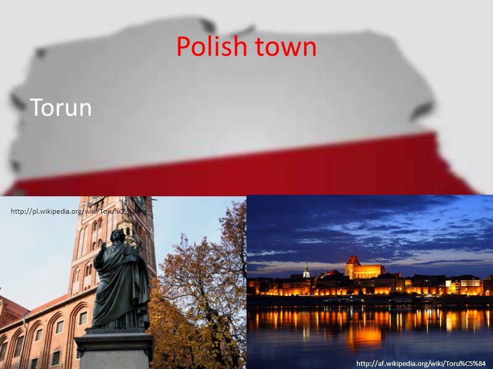 Polish town Torun http://pl.wikipedia.org/wiki/Toru%C5%84