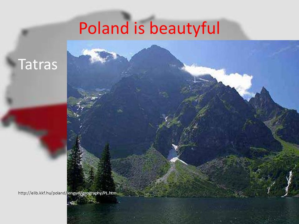 Poland is beautyful Tatras