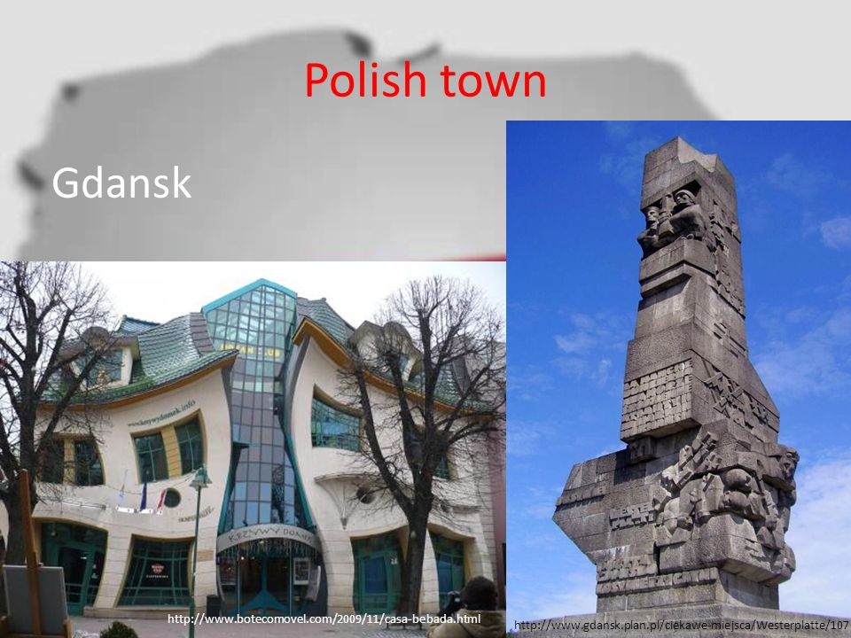 Polish town Gdansk http://www.botecomovel.com/2009/11/casa-bebada.html