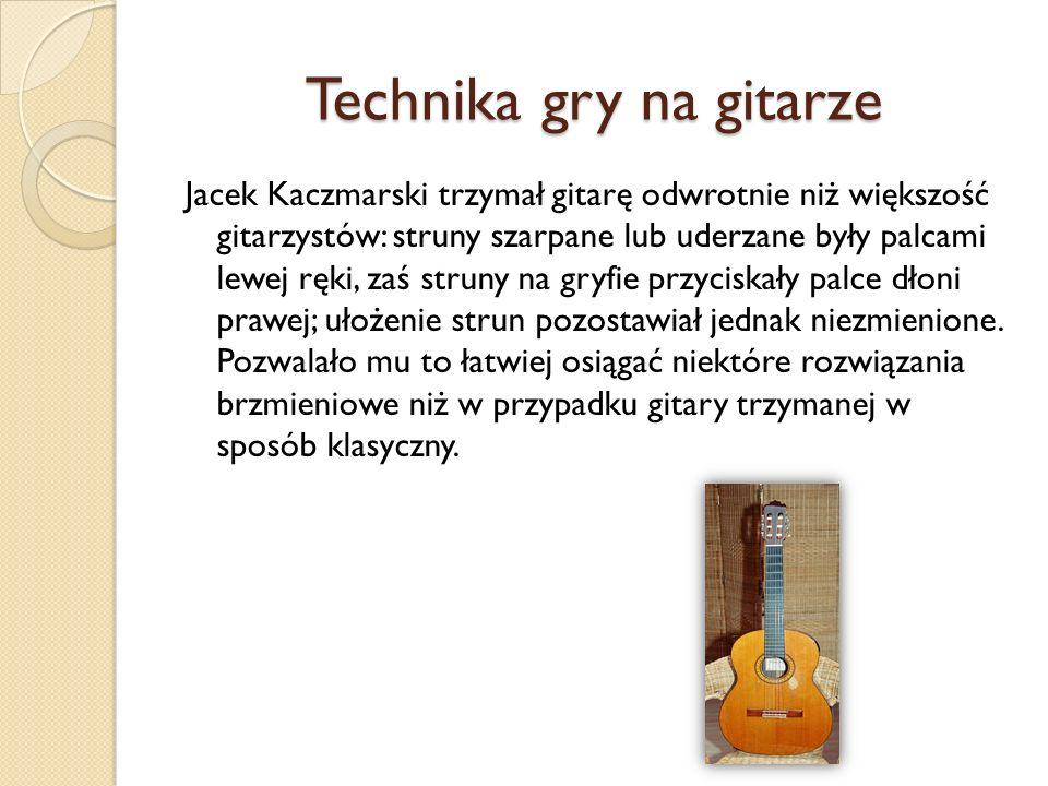 Technika gry na gitarze