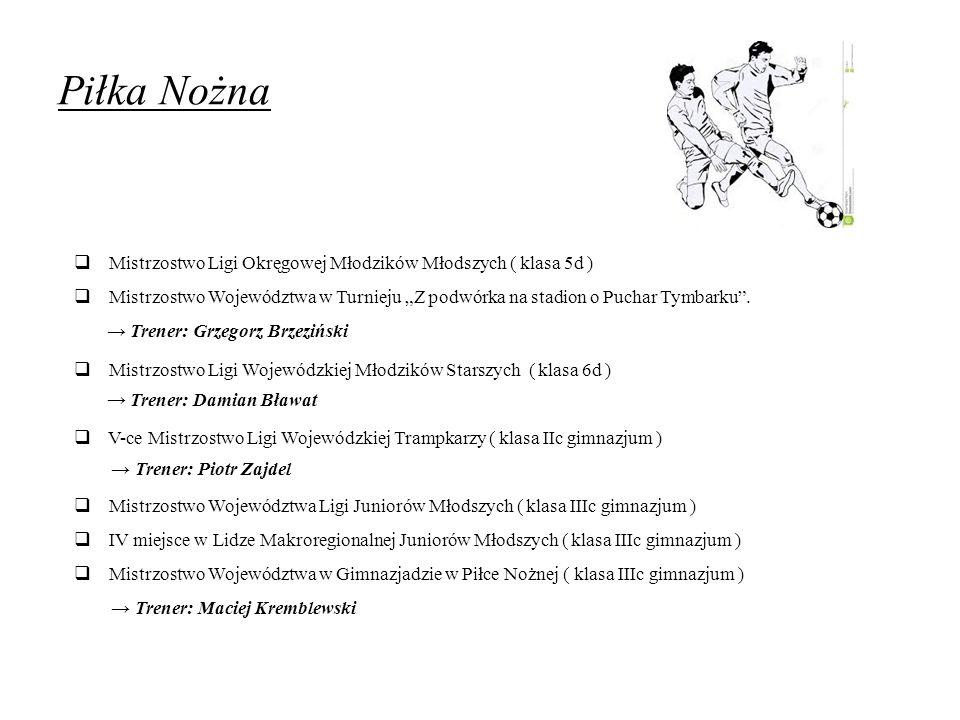 Piłka Nożna Mistrzostwo Ligi Okręgowej Młodzików Młodszych ( klasa 5d )