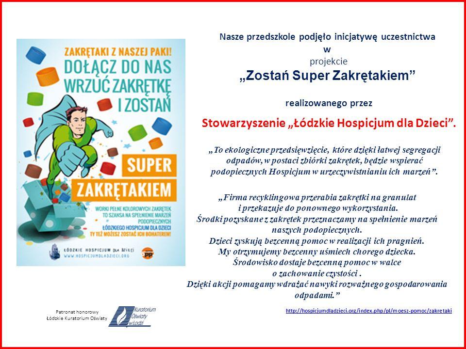"""Stowarzyszenie """"Łódzkie Hospicjum dla Dzieci ."""