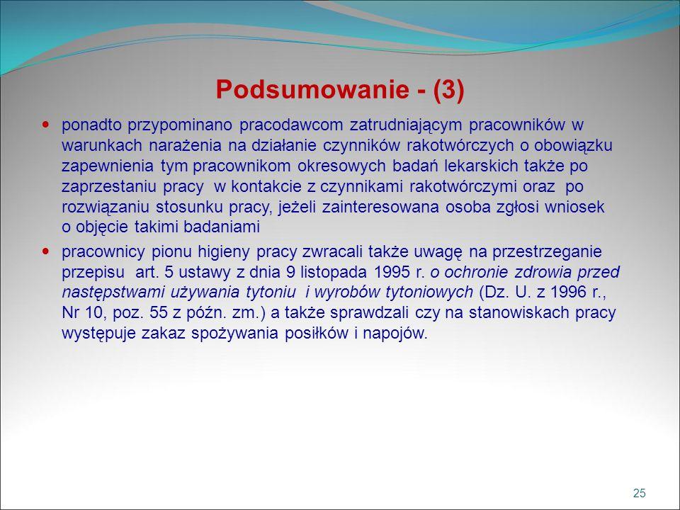 Podsumowanie - (3)