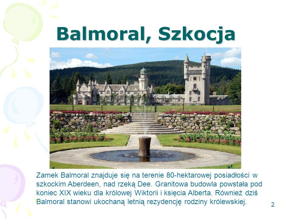 Balmoral, Szkocja