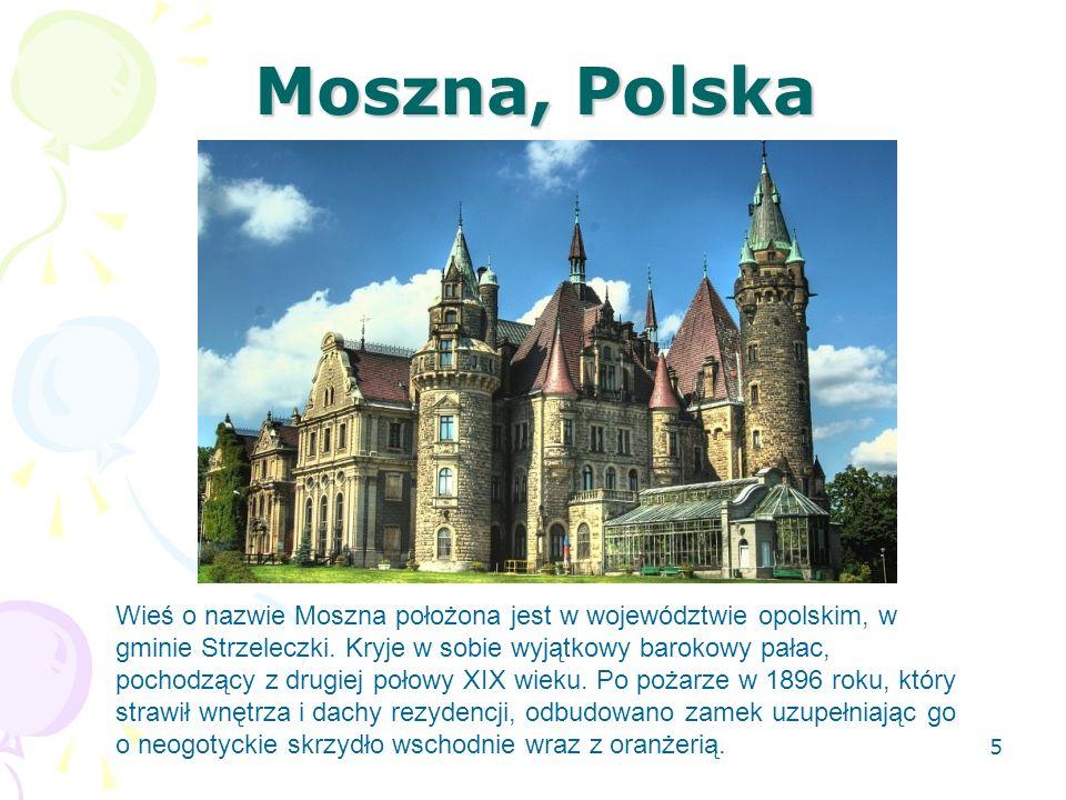 Moszna, Polska