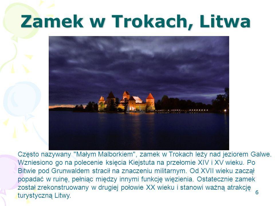 Zamek w Trokach, Litwa
