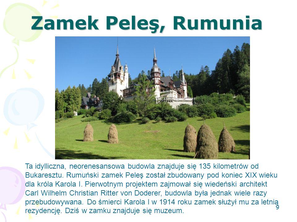 Zamek Peleş, Rumunia
