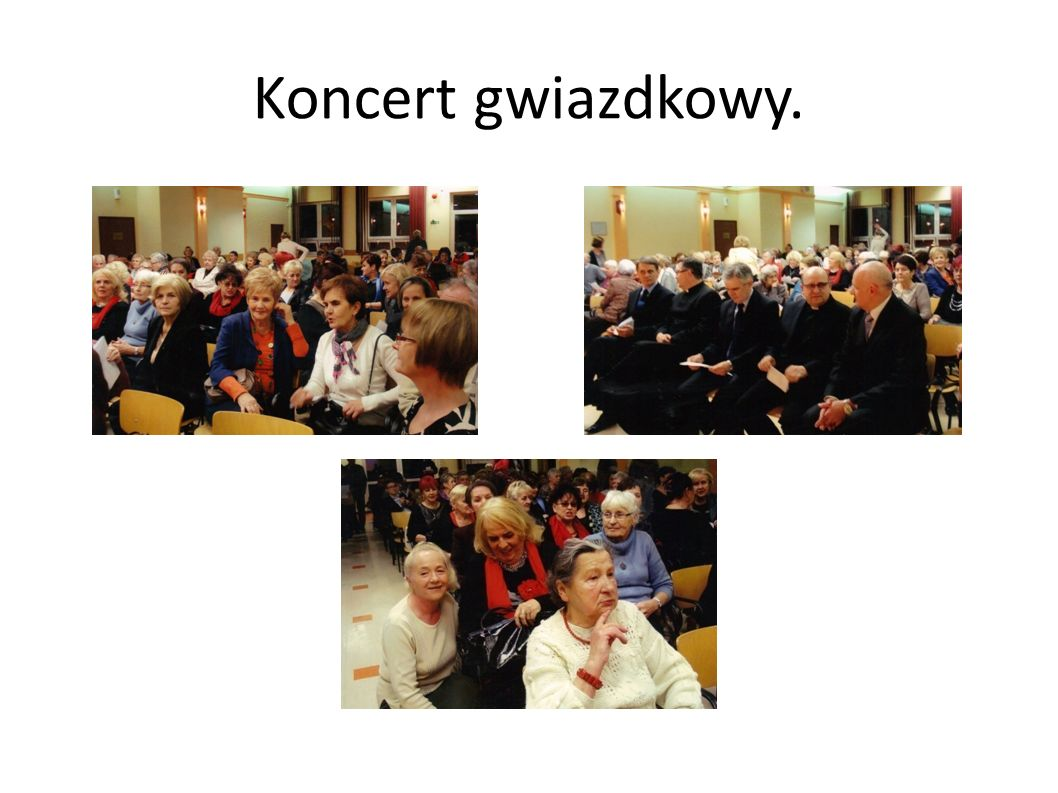 Koncert gwiazdkowy.