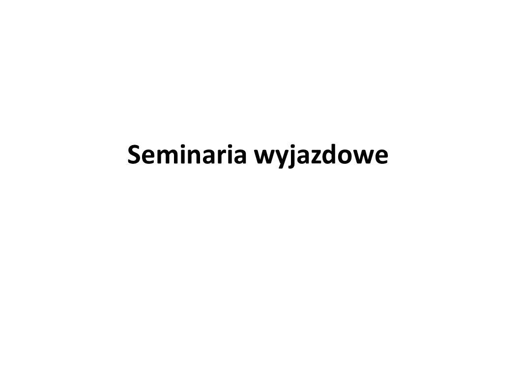 Seminaria wyjazdowe