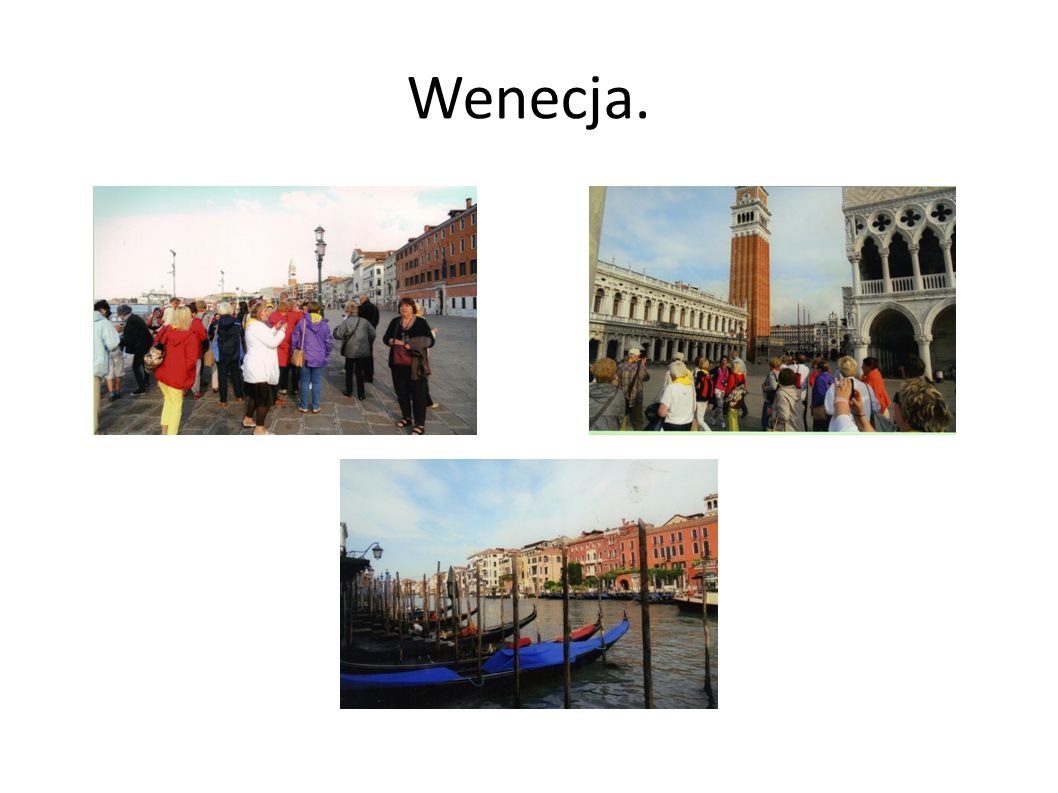 Wenecja.