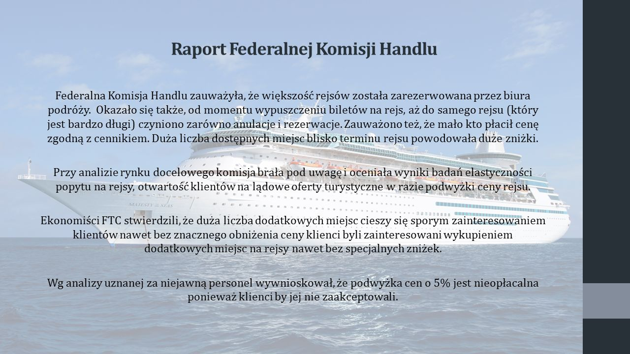 Raport Federalnej Komisji Handlu