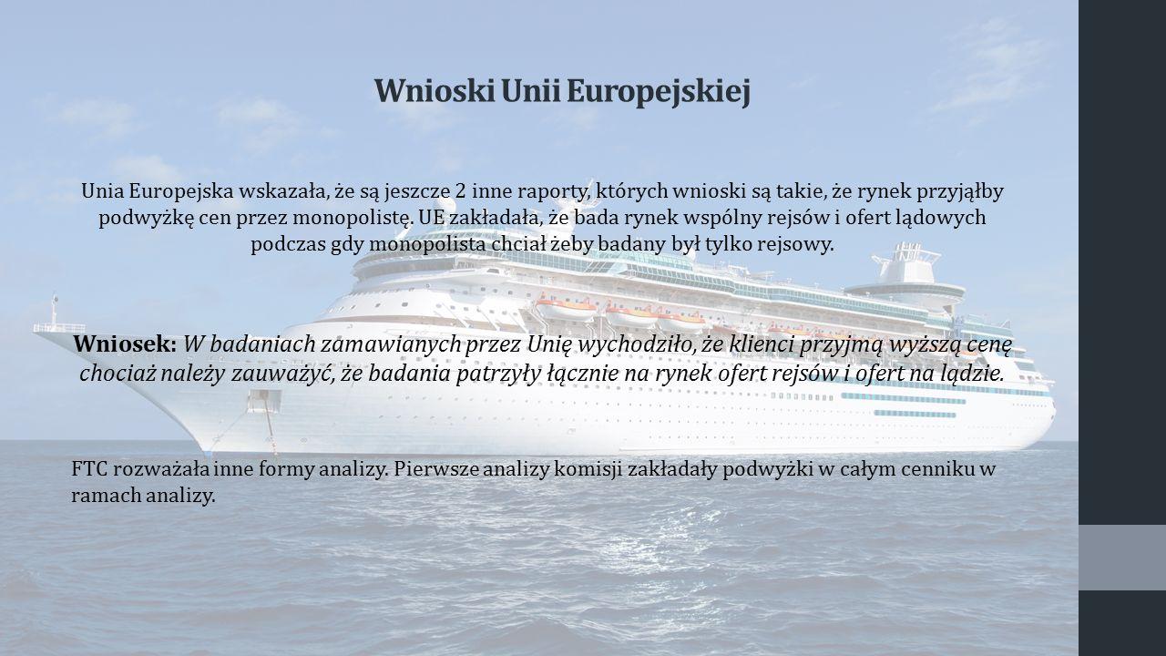 Wnioski Unii Europejskiej