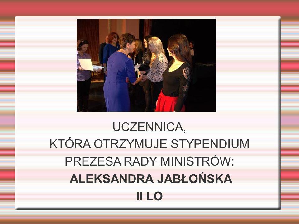ALEKSANDRA JABŁOŃSKA II LO