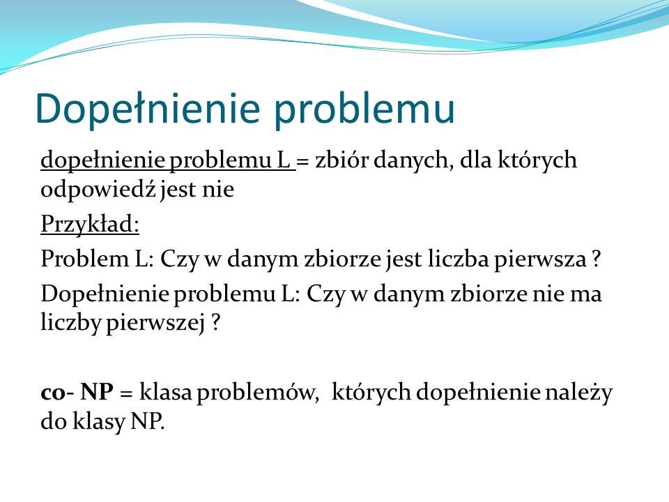 Dopełnienie problemu