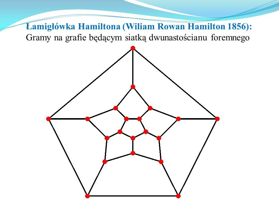 Łamigłówka Hamiltona (Wiliam Rowan Hamilton 1856):