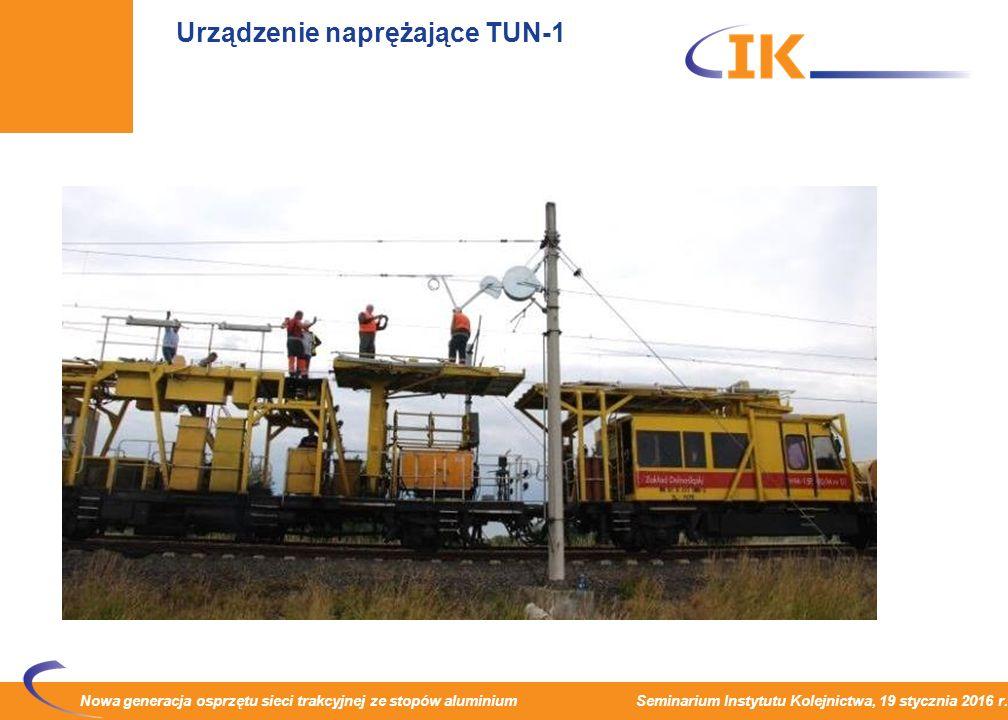 Urządzenie naprężające TUN-1