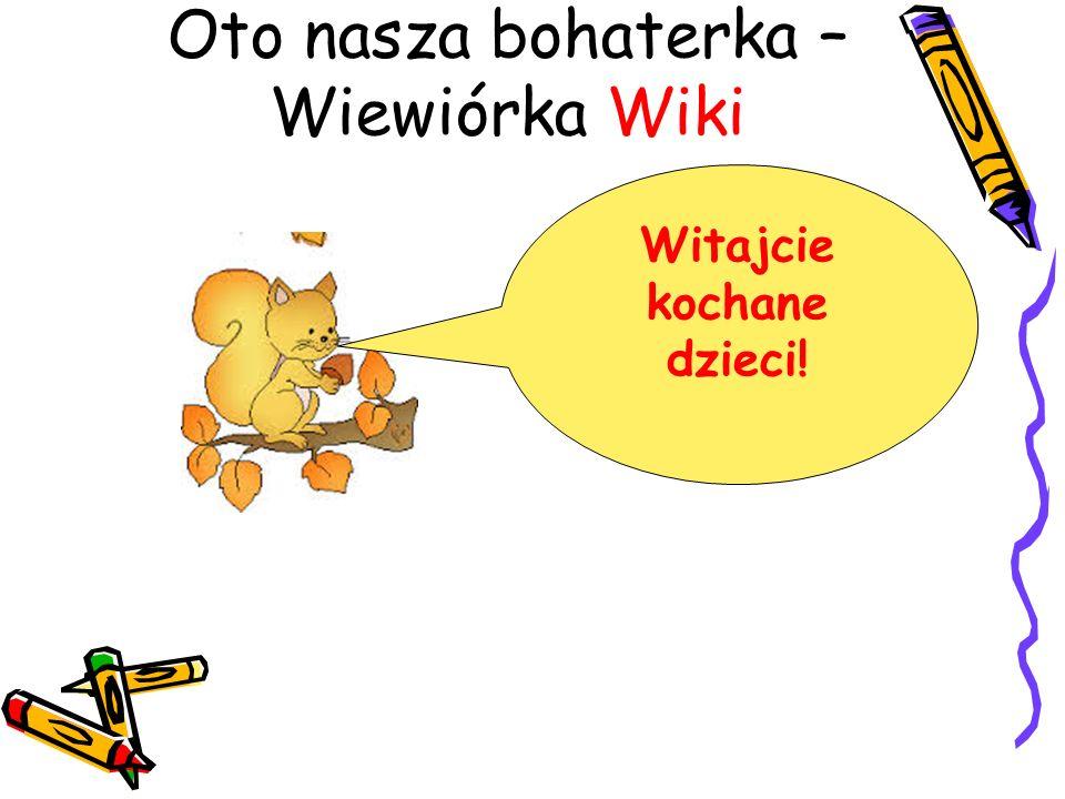 Oto nasza bohaterka – Wiewiórka Wiki