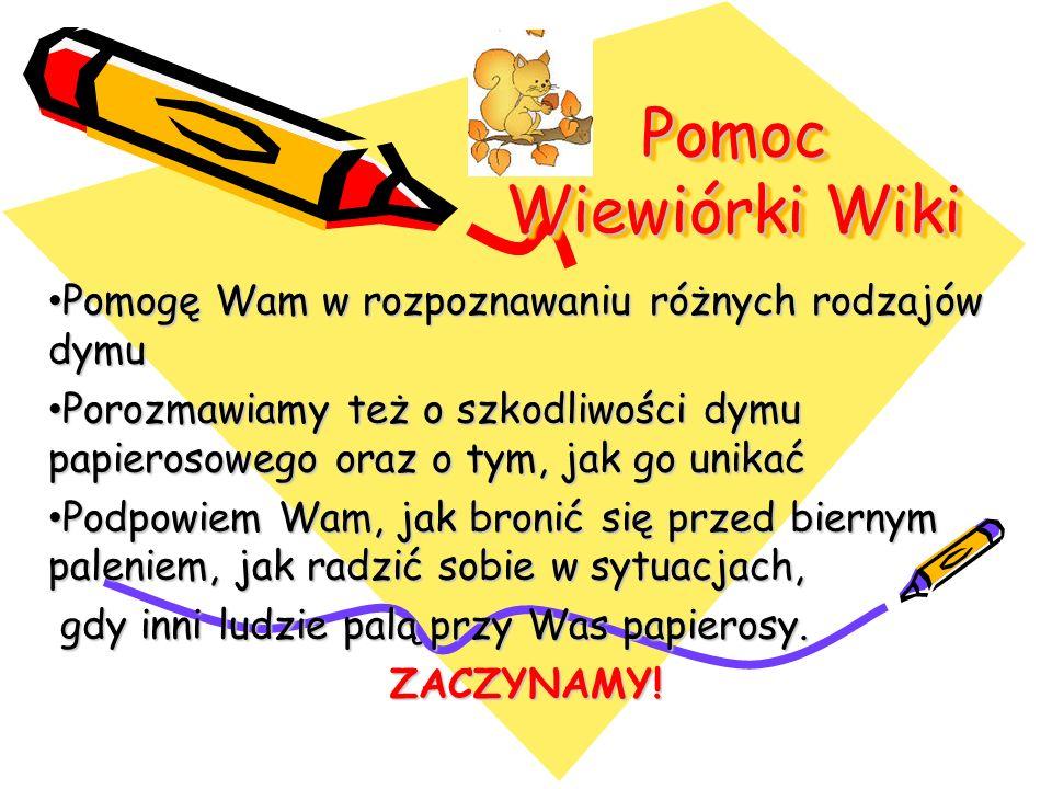 Pomoc Wiewiórki Wiki Pomogę Wam w rozpoznawaniu różnych rodzajów dymu
