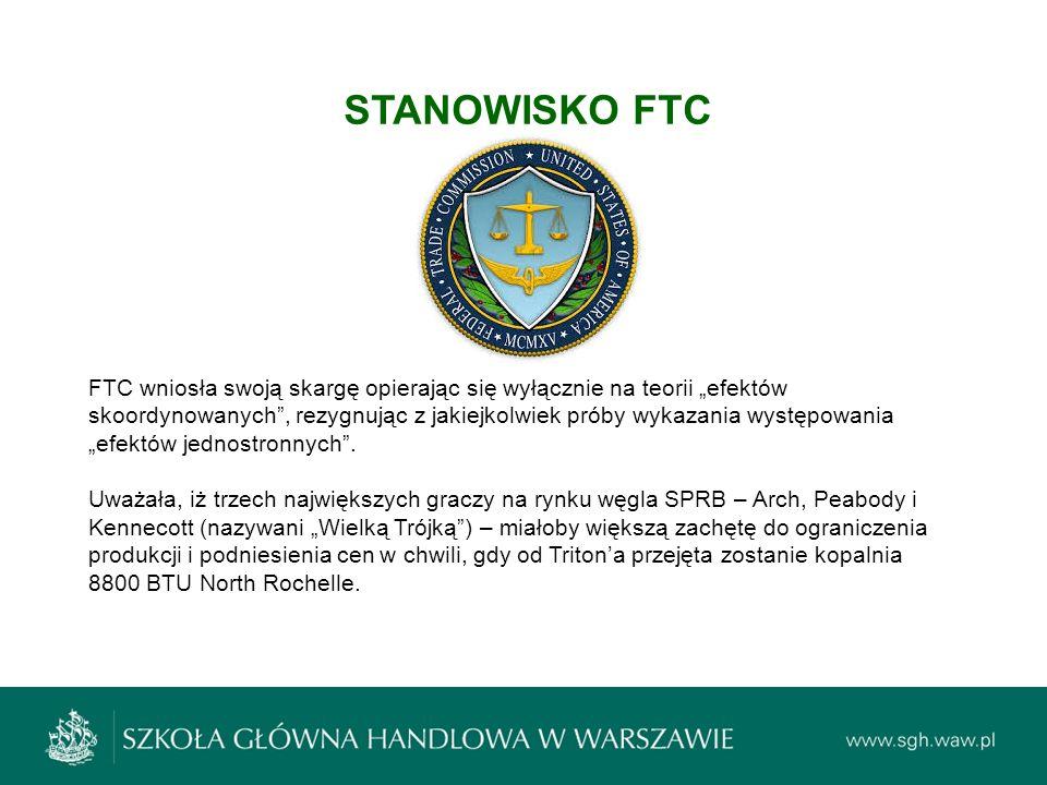 STANOWISKO FTC