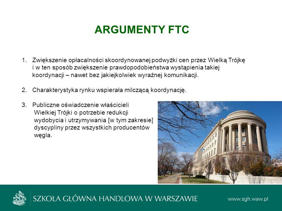 ARGUMENTY FTC