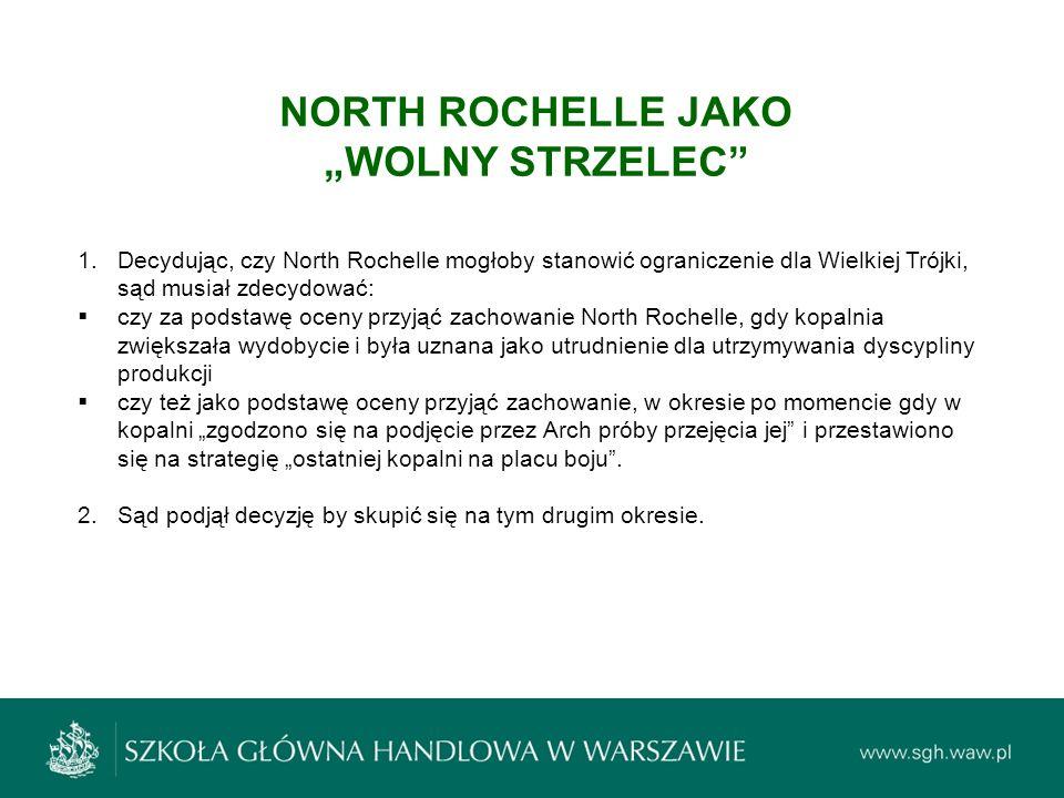 "NORTH ROCHELLE JAKO ""WOLNY STRZELEC"