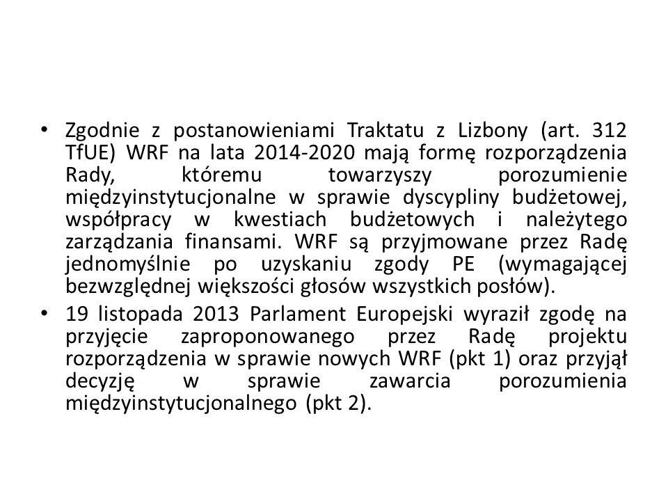 Zgodnie z postanowieniami Traktatu z Lizbony (art