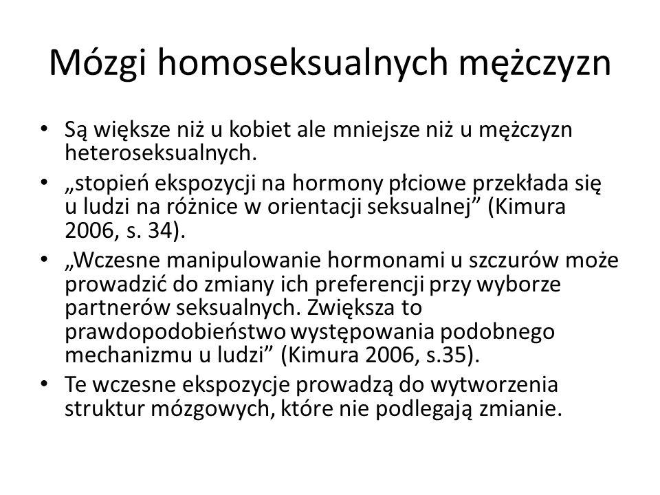 Mózgi homoseksualnych mężczyzn