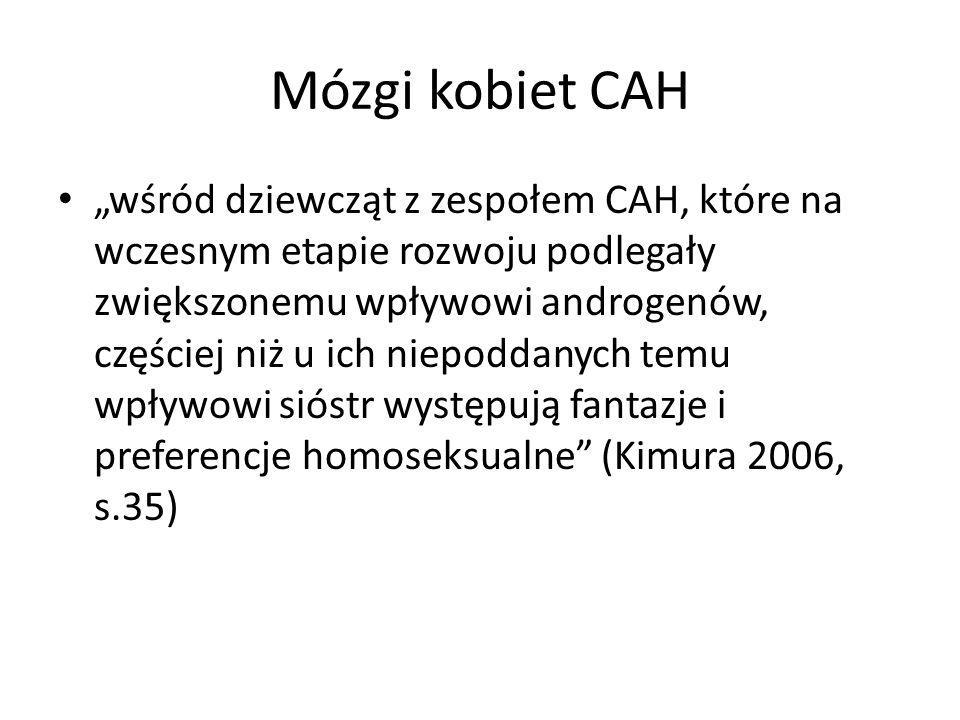 Mózgi kobiet CAH