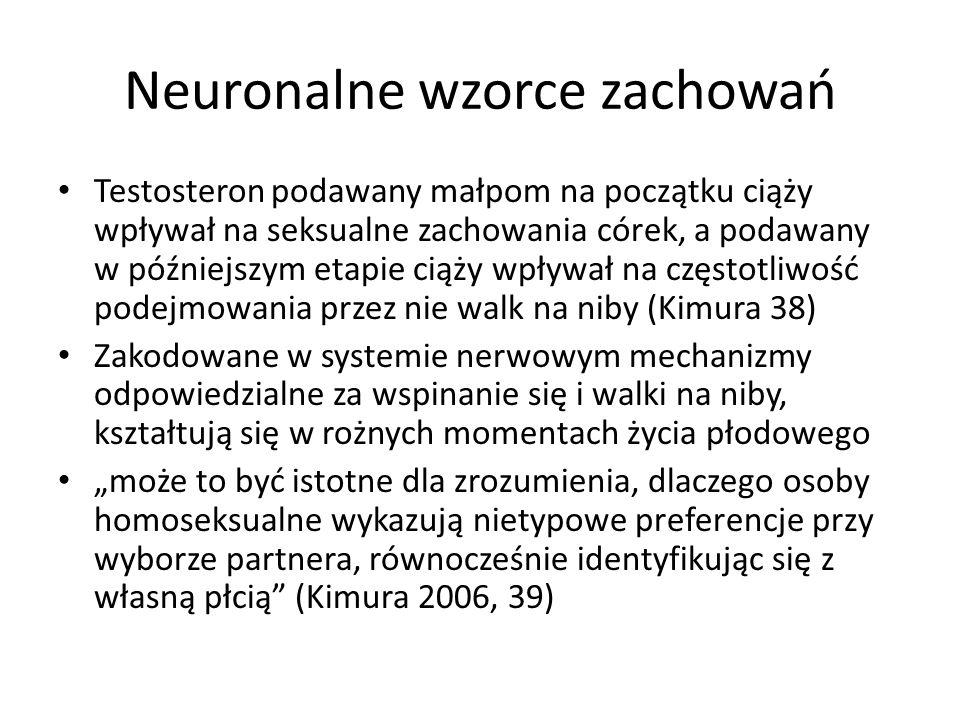 Neuronalne wzorce zachowań