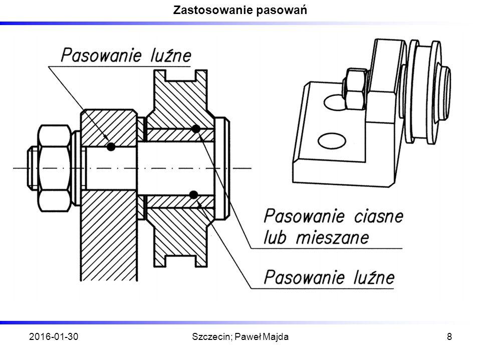 Tolerancje wymiarów liniowych zewnętrznych na przykładzie części typu - wałek