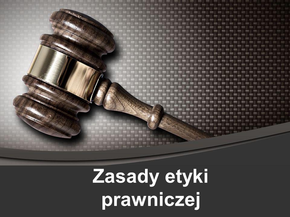 Zasady etyki prawniczej