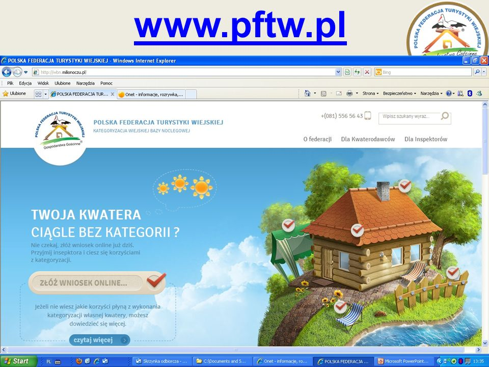 www.pftw.pl www.agroturystyka.pl www.pftw.pl