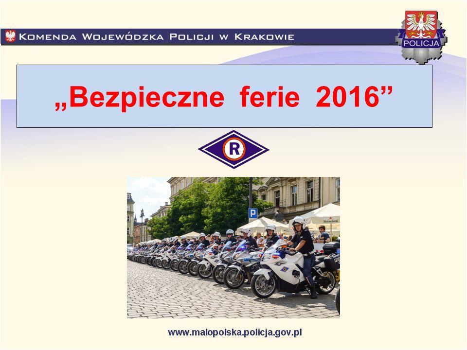 """""""Bezpieczne ferie 2016"""