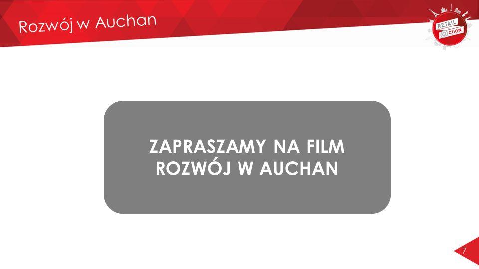 ZAPRASZAMY NA FILM ROZWÓJ W AUCHAN