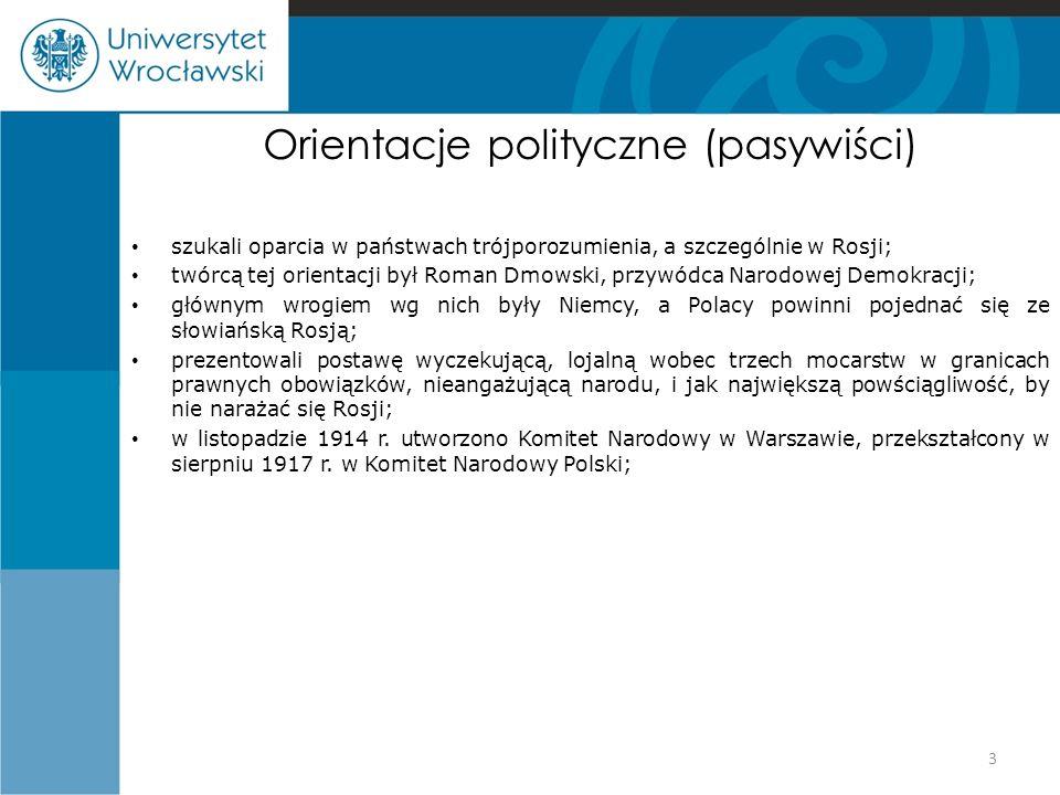 Orientacje polityczne (pasywiści)