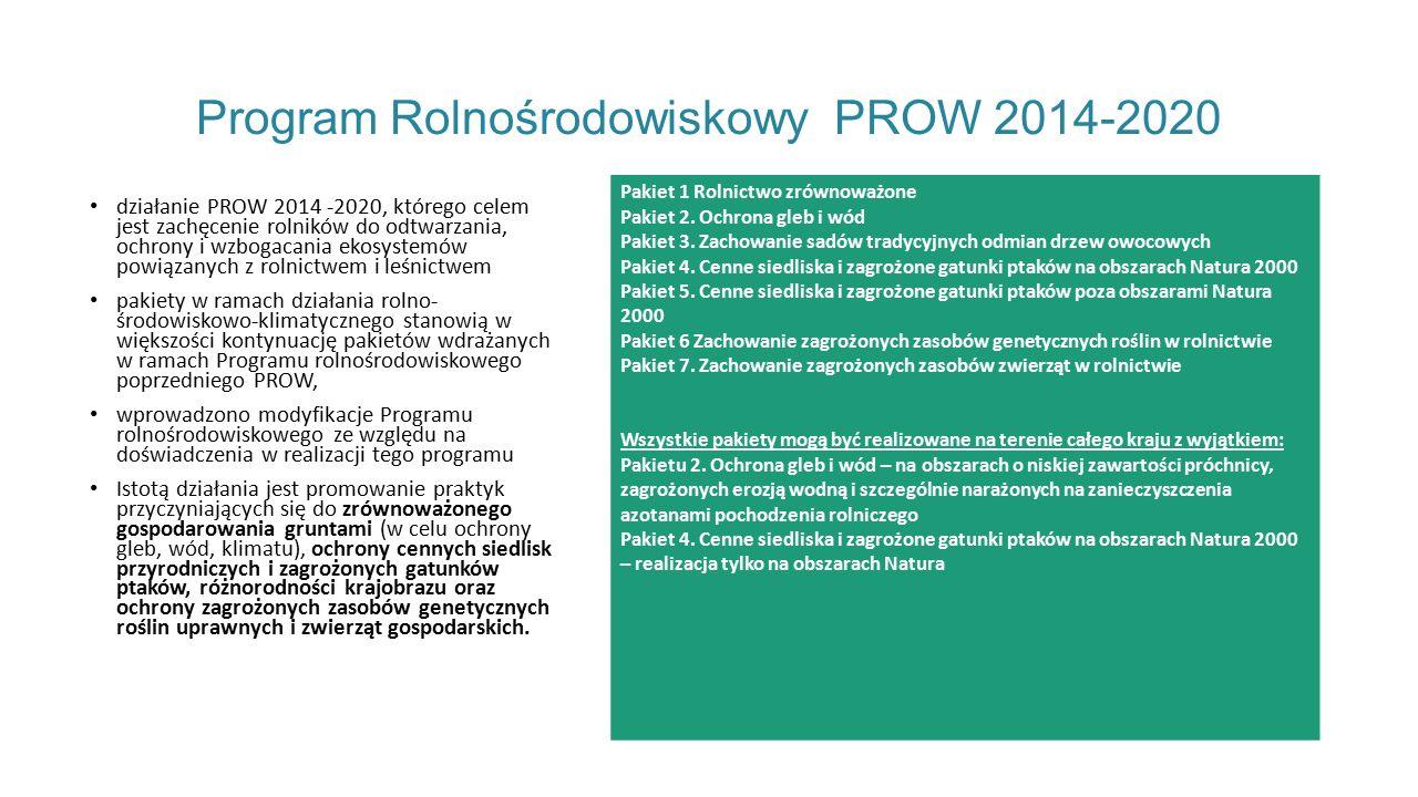 Program Rolnośrodowiskowy PROW 2014-2020
