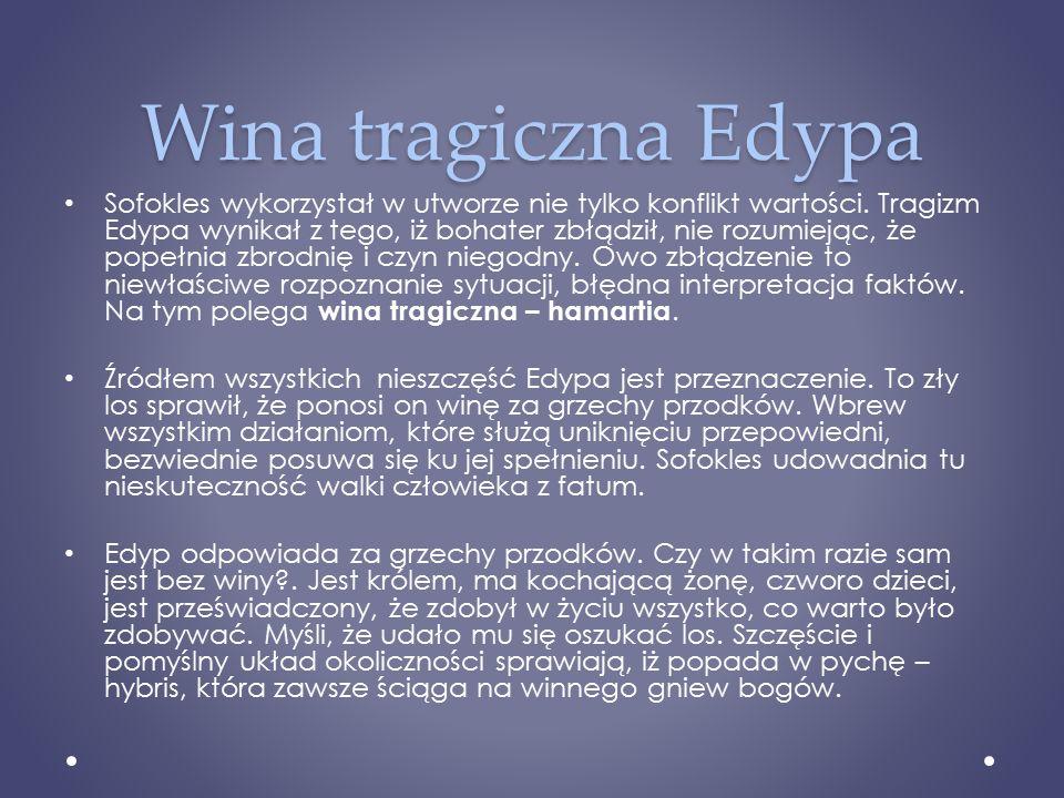 Wina tragiczna Edypa
