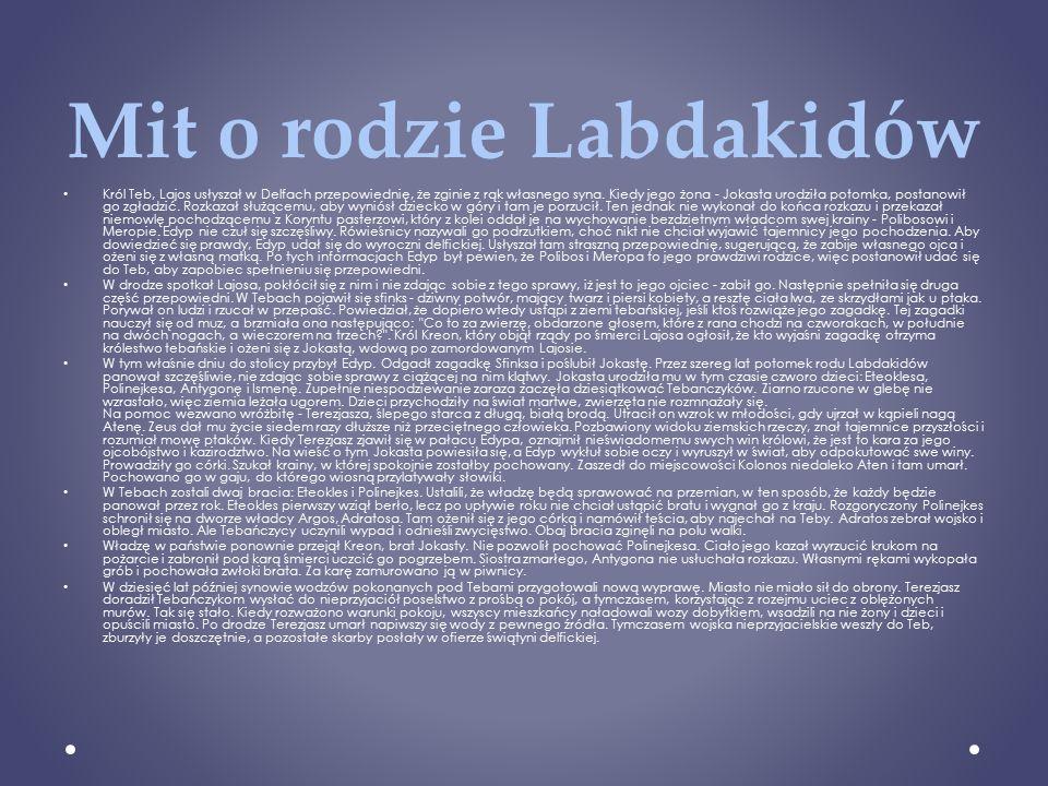 Mit o rodzie Labdakidów