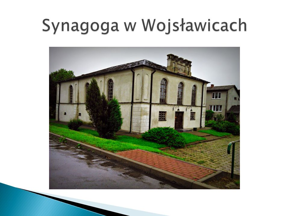 Synagoga w Wojsławicach