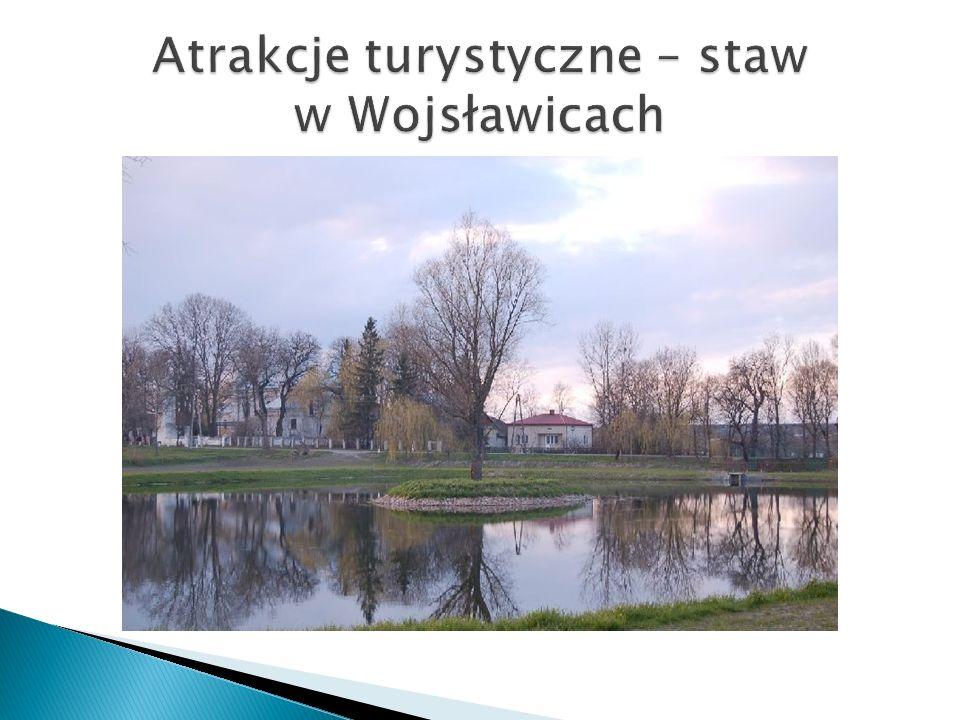 Atrakcje turystyczne – staw w Wojsławicach