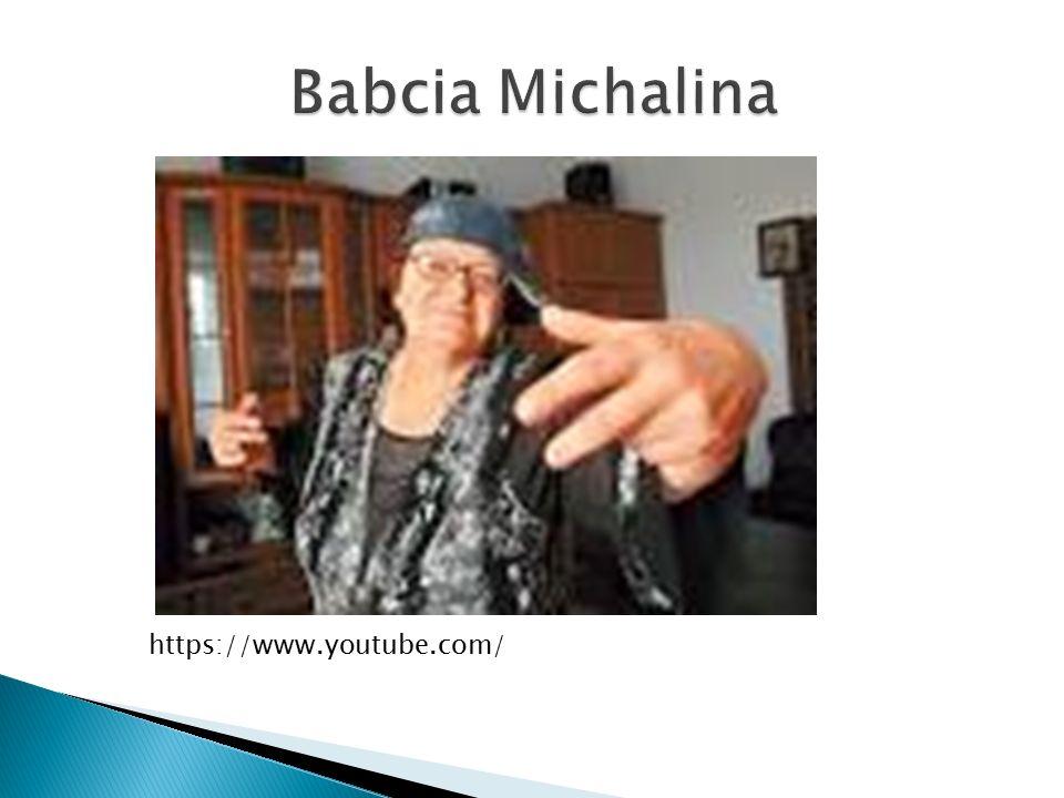 Babcia Michalina https://www.youtube.com/
