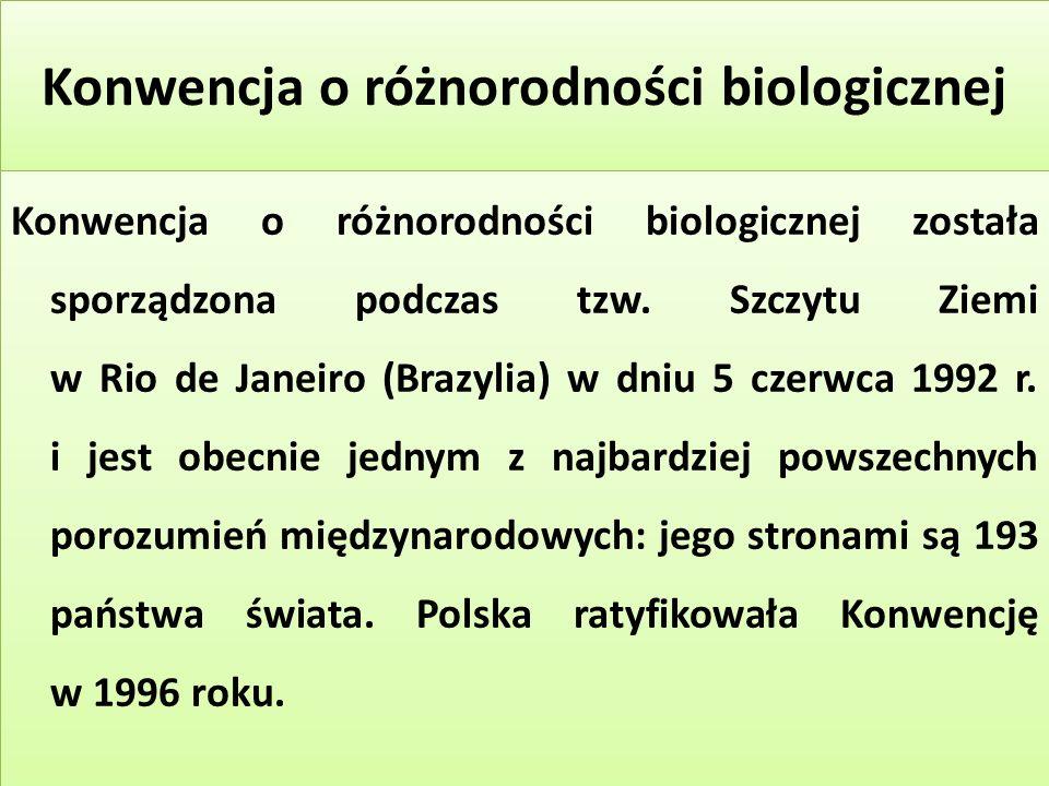 Konwencja o różnorodności biologicznej