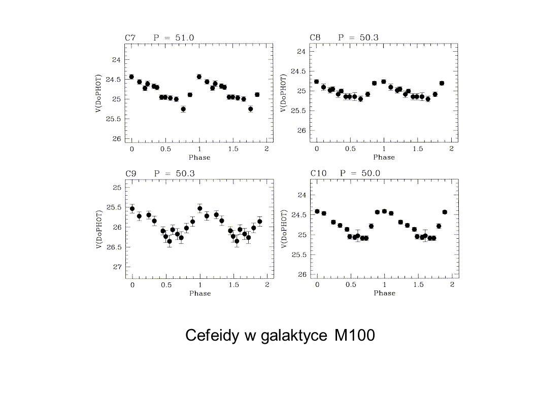 Cefeidy w galaktyce M100 14