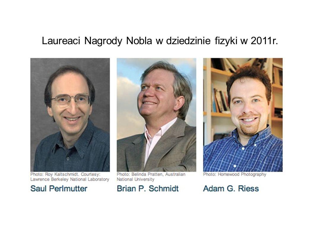 Laureaci Nagrody Nobla w dziedzinie fizyki w 2011r.