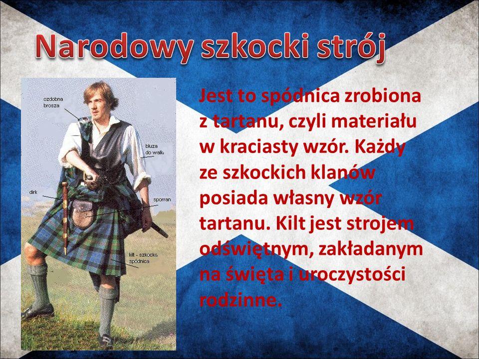 Narodowy szkocki strój
