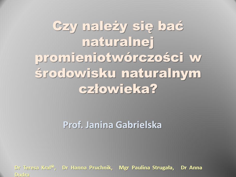 Prof. Janina Gabrielska