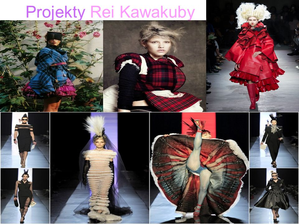 Projekty Rei Kawakuby .