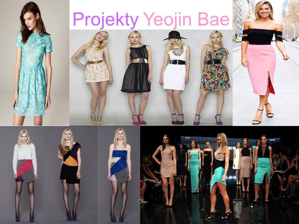Projekty Yeojin Bae .