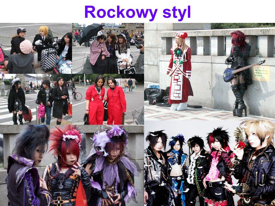 Rockowy styl .