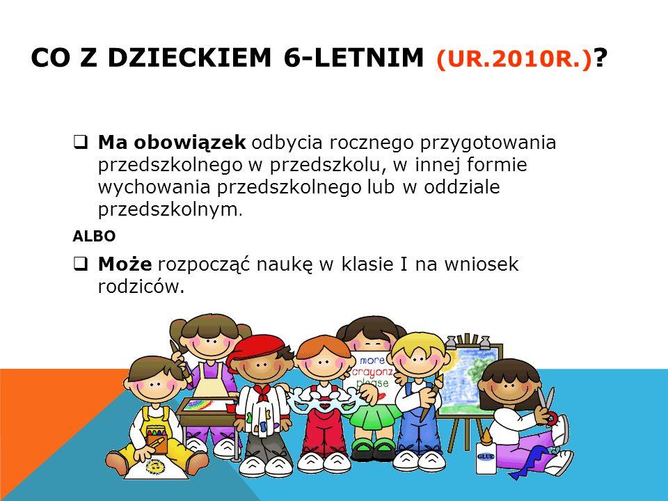 CO Z DZIECKIEM 6-LETNIM (ur.2010r.)
